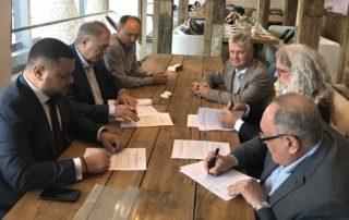 Signing the Memorandum of Understanding on Cooperation